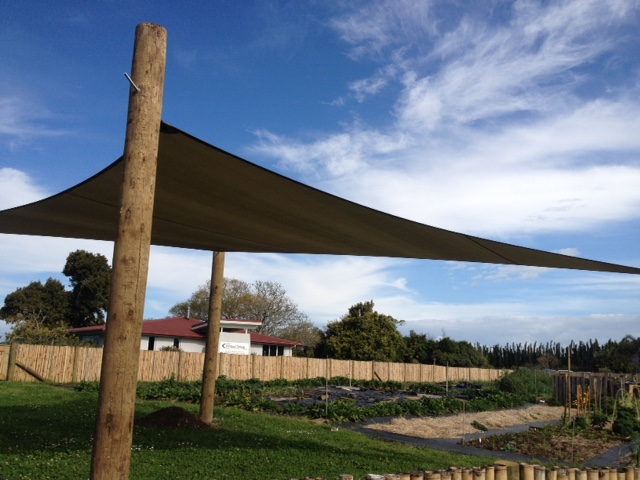 Thanks to Kerikeri Canvas & shades for our wonderful shade cover!