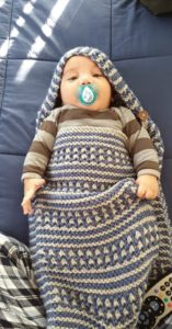SACKS-Baby in Angel Sack Hokianga Health